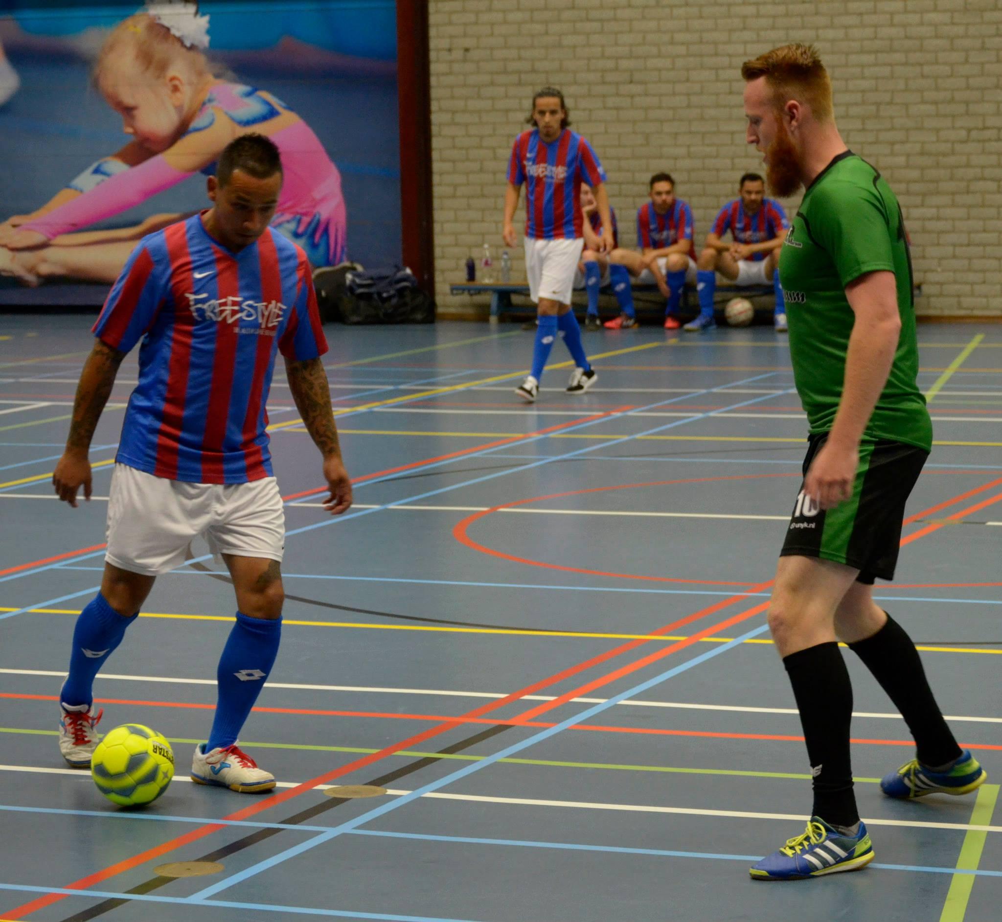 Vrijdag kraker in de Holten: Koploper Futsal Marum tegen nummer twee Winsum